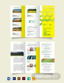 Land for Sale Tri-Fold Brochure Template