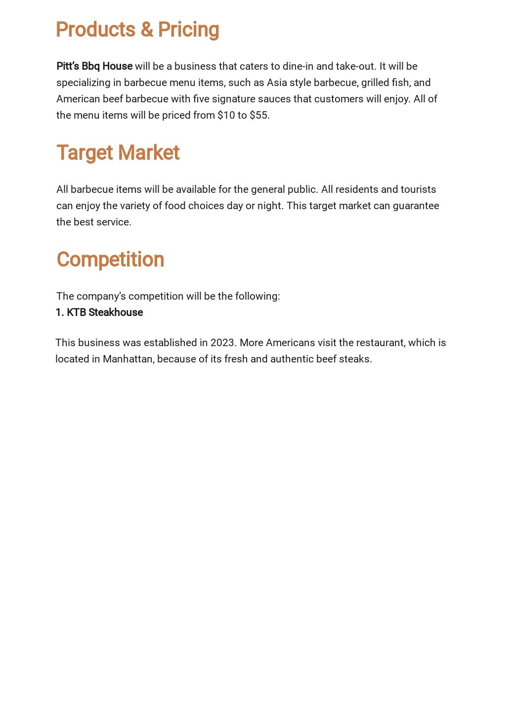 Simple Business Plan Budget Template 2.jpe