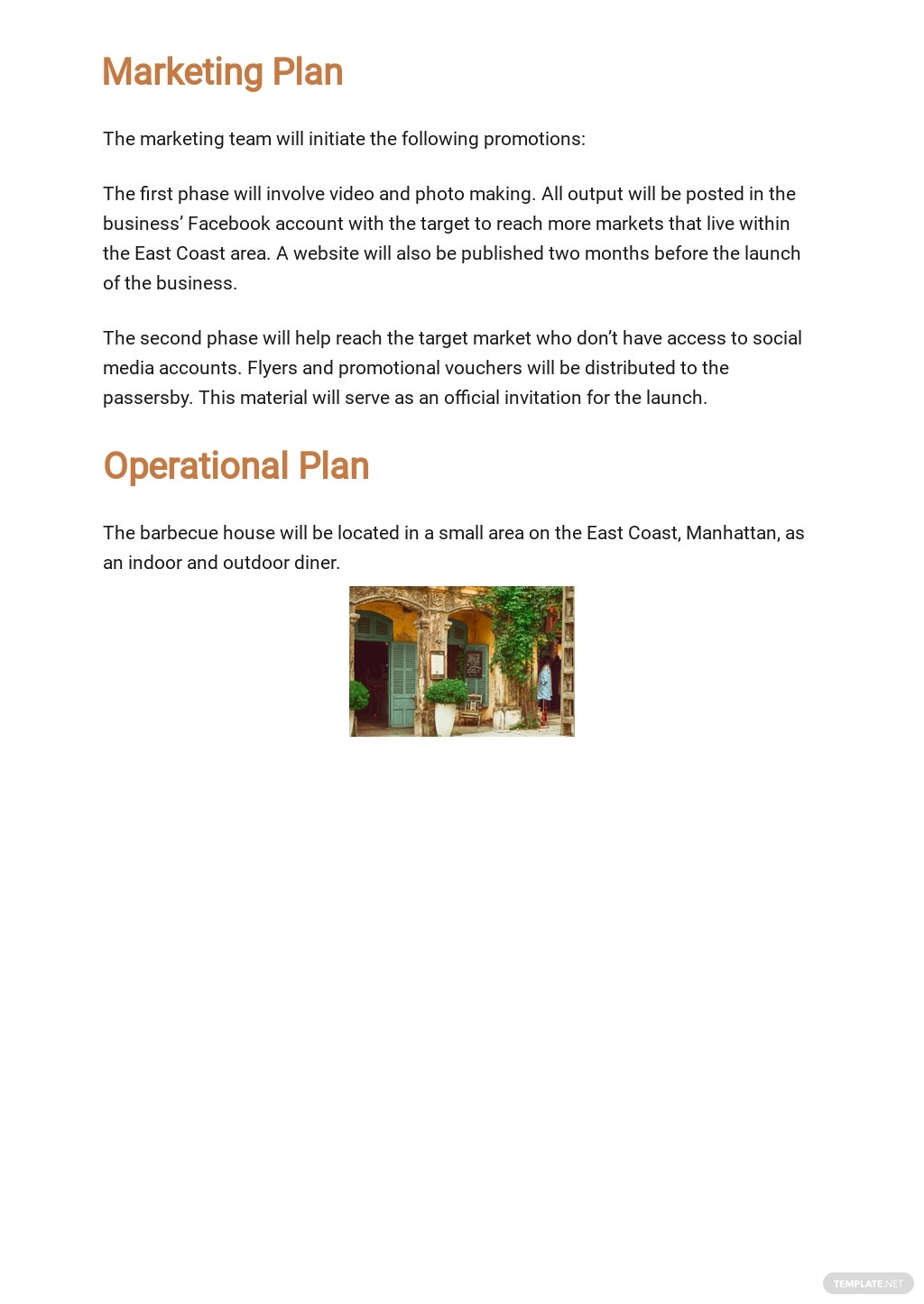 Simple Business Plan Budget Template 4.jpe