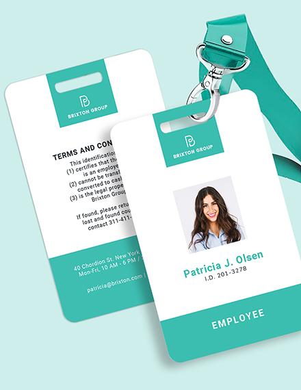 Simple Investigator ID Card Download