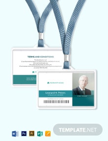 Synagogue Membership ID Card Template