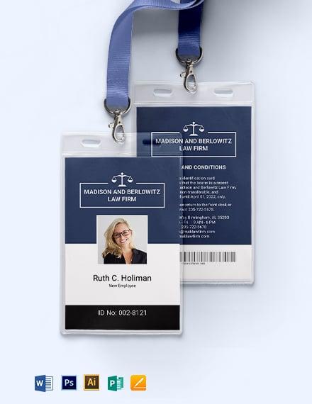 Temporary ID Card