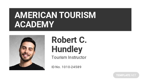 Training College ID Card Template
