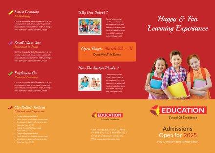 Free Educational Brochure Templates Free Templates