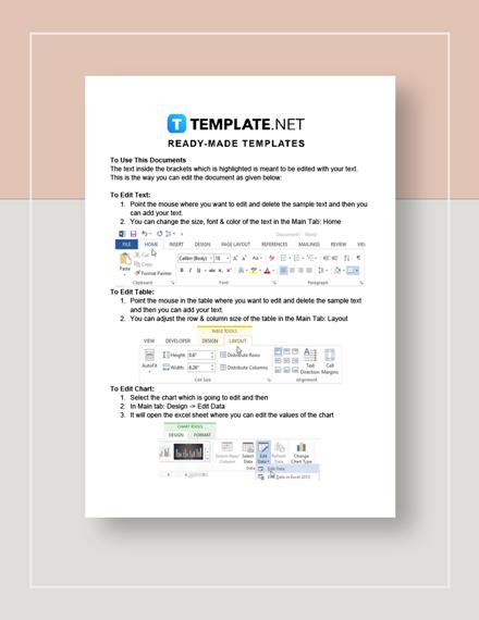 Printable Wedding Budget Worksheet Instructions