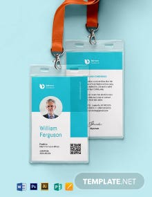 Badge ID Card Template