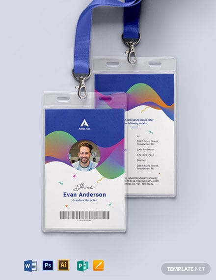 Creative Corporate ID Card Template