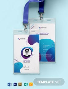 Creative Press ID Card Template