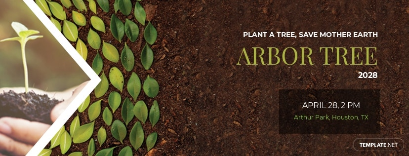 Arbor Day Facebook Cover Template
