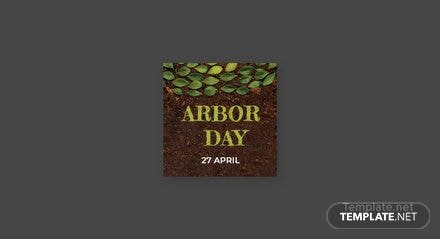 Free Arbor Day Facebook Profile Photo Template