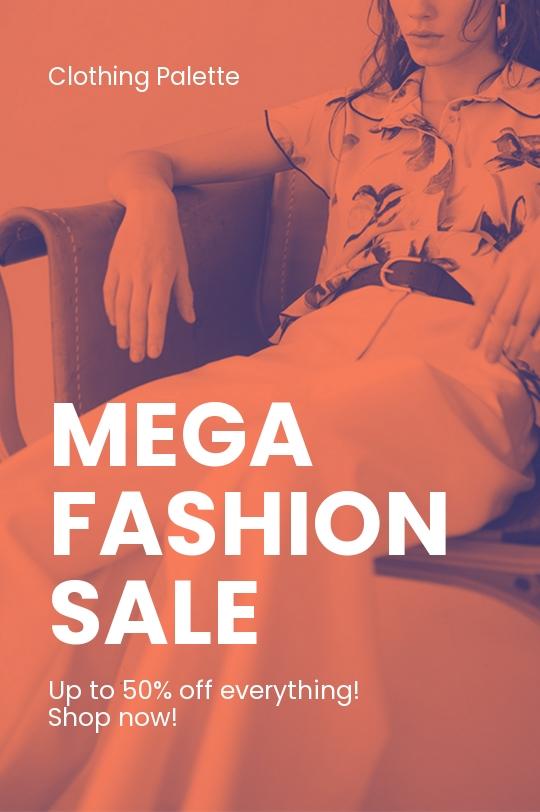 Free Minimalistic Fashion Sale Tumblr Post Template.jpe