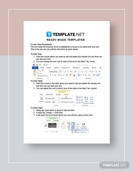 Payment Invoice Instructions