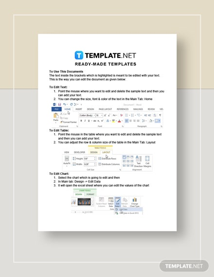 Construction Estimate Invoice Instructions