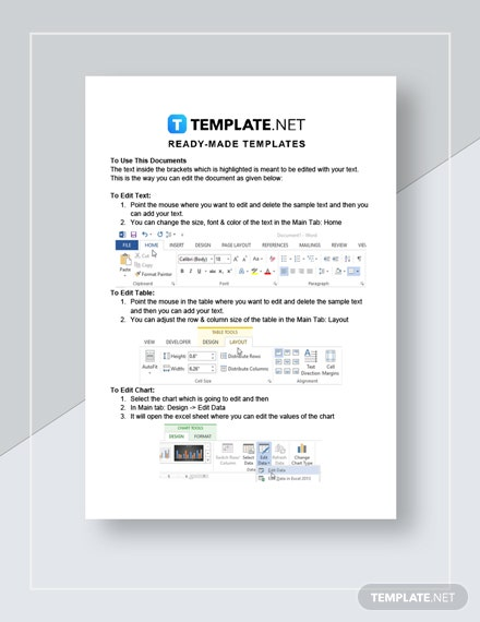 Web Design Invoice Instructions