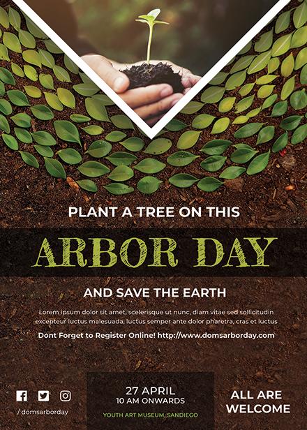 Free Arbor Day Invitation Template