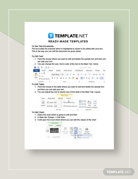 Sample Hourly Invoice Instructions