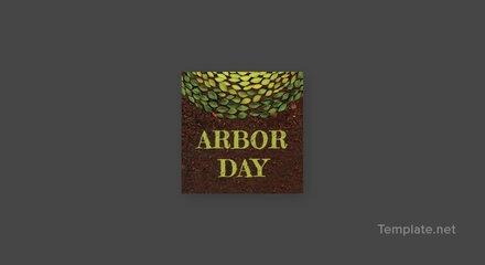 Free Arbor Day Pinterest Profile Photo Template