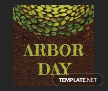 Free Arbor Day Pinterest Profile Photo Template