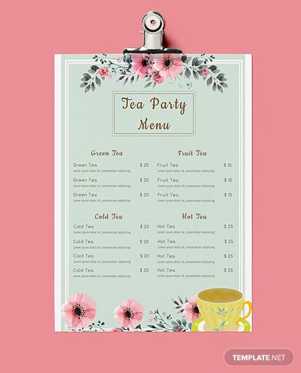 free italian menu template in adobe photoshop  microsoft word  microsoft publisher  adobe