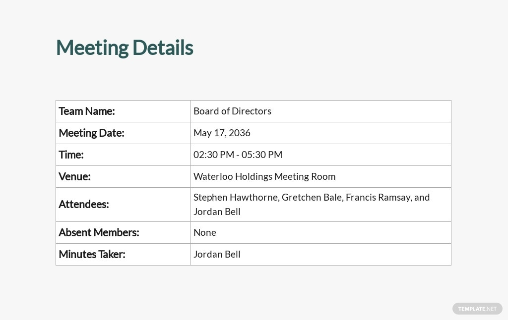 Corporate Board Of Directors Meeting Minutes Template 1.jpe