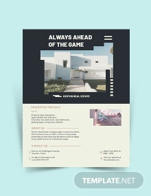 House Home Community Flyers Template