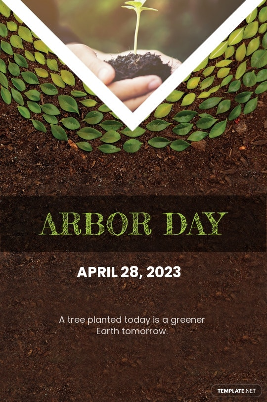 Arbor Day Tumblr Post Template