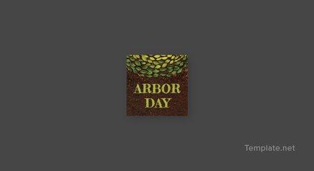 Free Arbor Day Tumblr Profile Photo Template