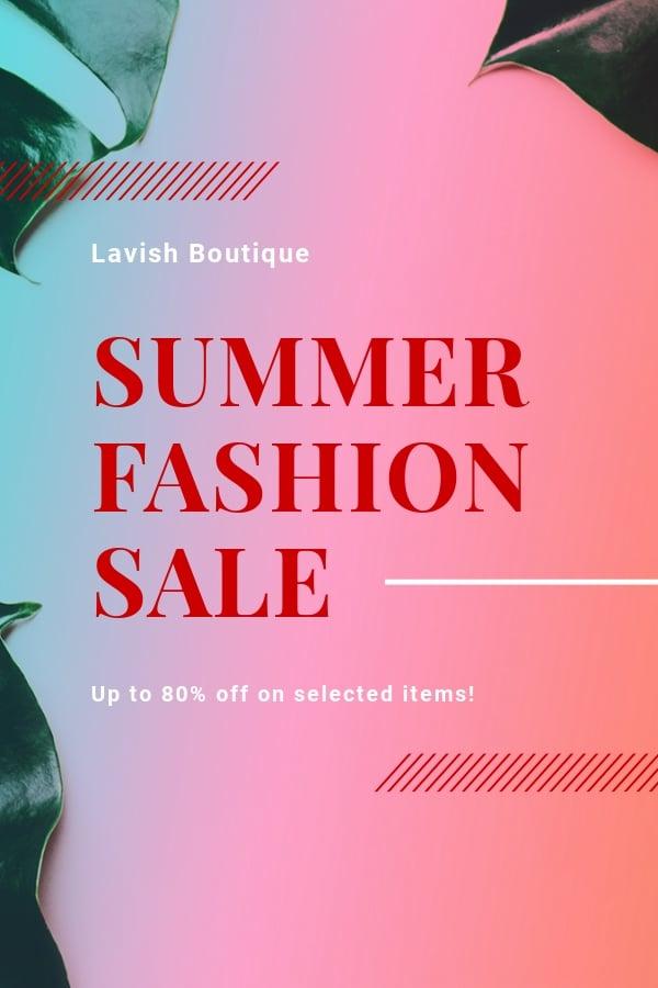 Free Basic Fashion Sale Pinterest Pin Template.jpe