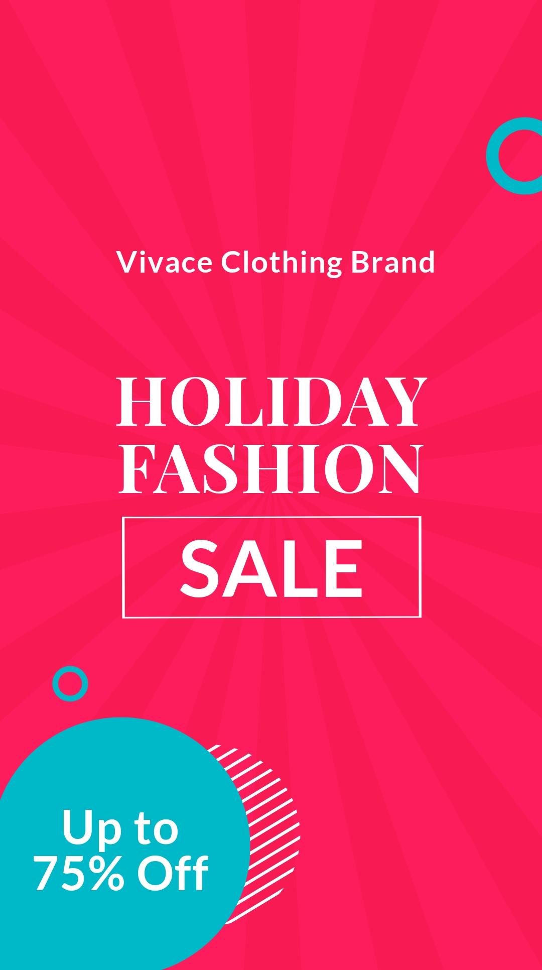 Free Blank Fashion Sale Whatsapp Post Template.jpe
