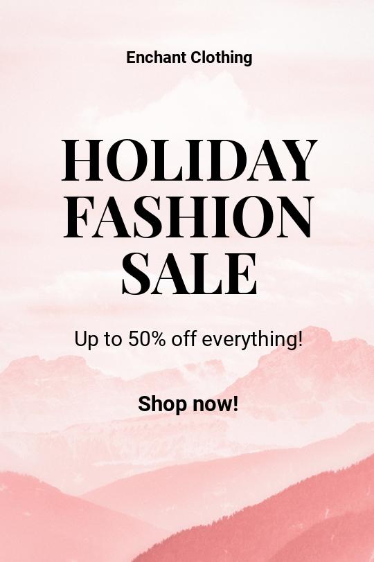 Free Blank Fashion Sale Tumblr Post Template.jpe