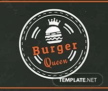 Free Burger Menu Template