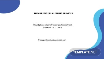 Carpet Cleaning ID Card Template 1.jpe