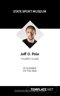 Museum ID Card Template
