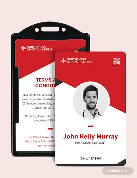 Printable Emergency ID Card Download