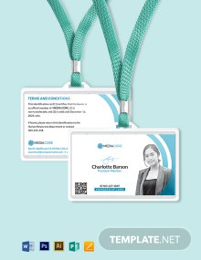 Printable Membership ID Card Template