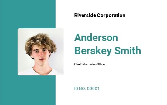 Printable Investigator ID Card Template