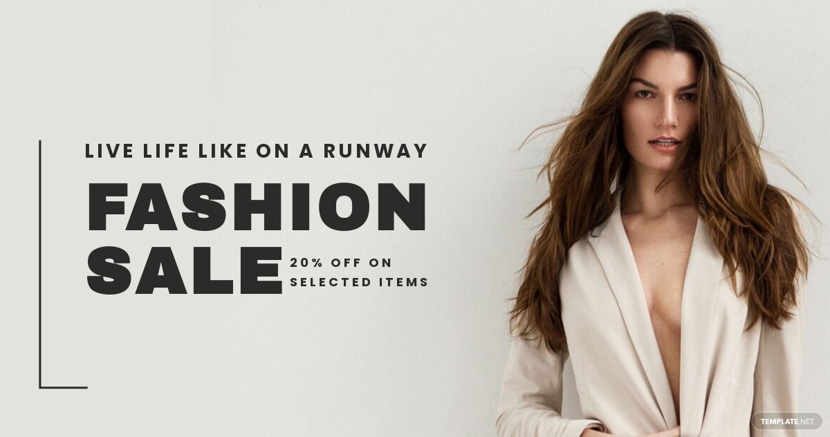 Grand Fashion Sale LinkedIn Blog Post Template.jpe