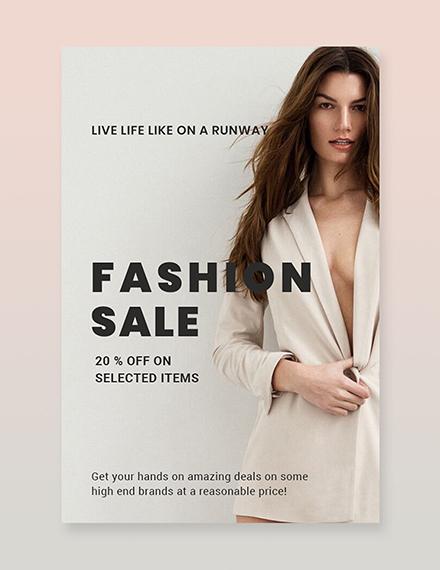 Free Grand Fashion Sale Pinterest Pin Download