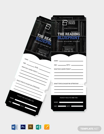 Reading Exit Ticket Template