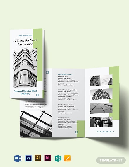 Realtor Personal Branding TriFold Brochure