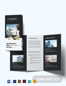 Commercial Realtor Tri-Fold Brochure Template