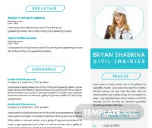Free-Experienced-Civil-Engineer-Resume-Template Template Cover Letter And Resume Free Ai Cv For Civil Engineer Vgwokq on