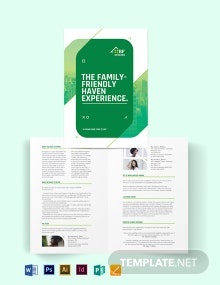 Subdivision Agent/Agency Bi-Fold Brochure Template