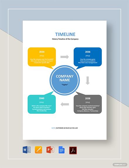 blank timeline 2