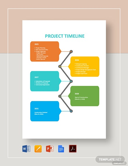 project timeline 2