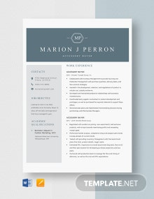 Accessory Buyer Resume Template