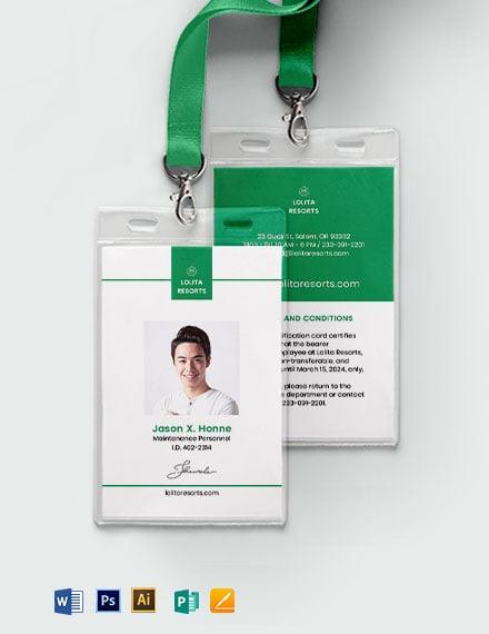 Resort ID Card
