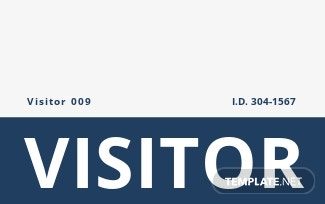 School Visitor ID Card Template.jpe