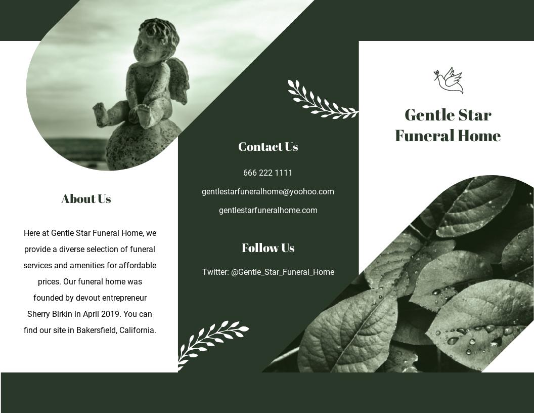 Editable Funeral Service Tri Fold Brochure Template.jpe