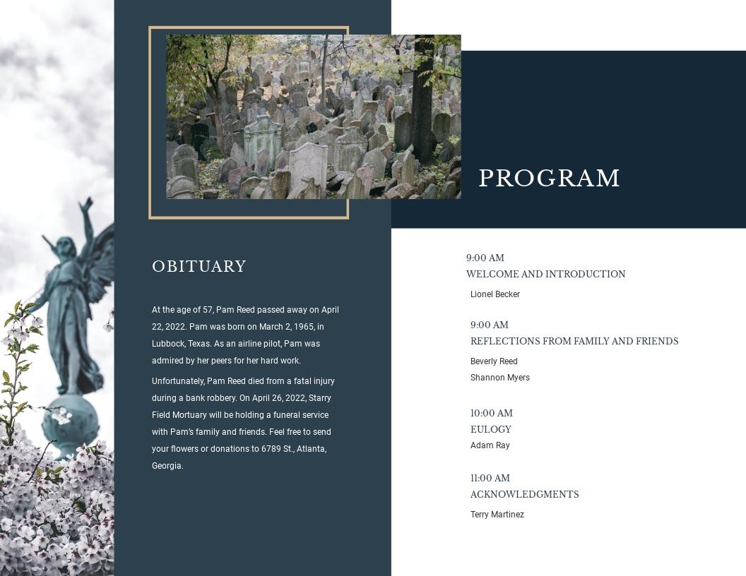 Modern Funeral Obituary Bi Fold Brochure Template 1.jpe